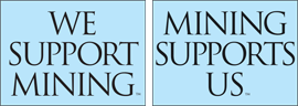 We Support Mining. Mining Supports Us.