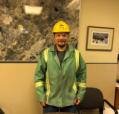 Incoming Board Chair Robb Peterson of ArcelorMittal Minorca Mine